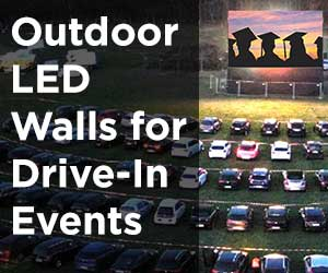 Outdoor LED Video Walls - The Perfect Solution for Next Drive-In Events