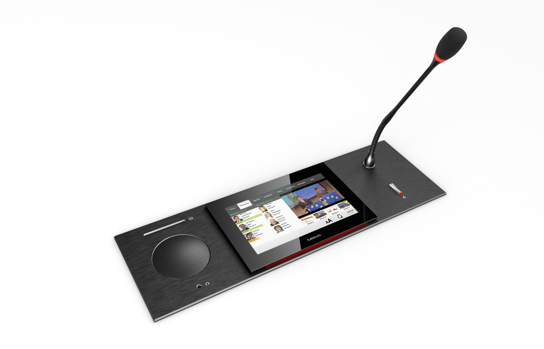 Listen Technologies Multi-Media Touch Conferencing Unit 3