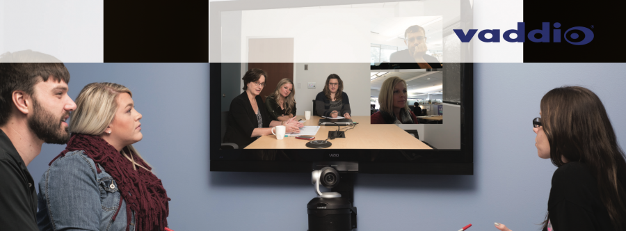 Vaddio Elevates the Huddle Room Experience Delivering the First Enterprise-Class USB PTZ Camera with Integrated Audio