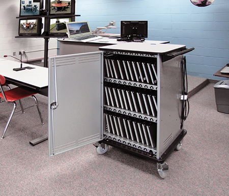 New Laptop Cart Designed Specifically for Chromebooks