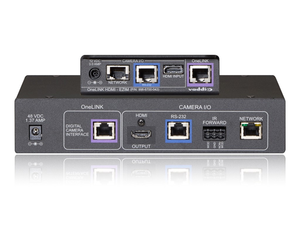 Vaddio New OneLINK HDMI for RoboSHOT HDMI and Third-Party Videoconferencing Cameras and Codecs – Now Shipping