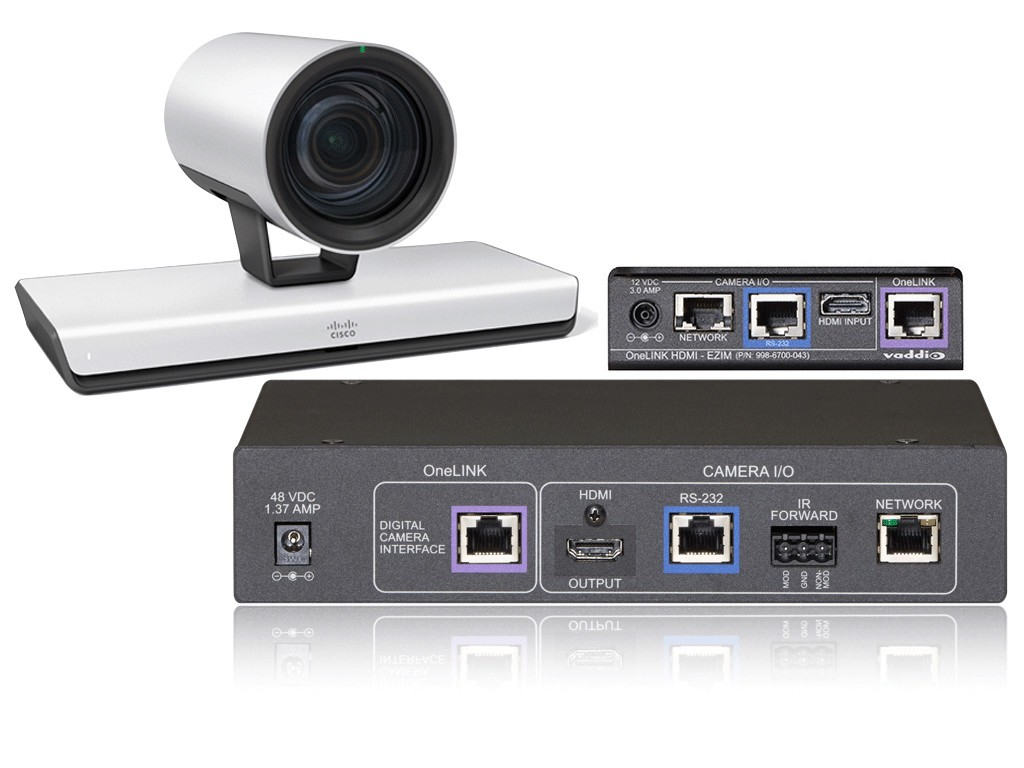 Vaddio™ Announces a New OneLINK™ Extension System for Cisco Telepresence Systems