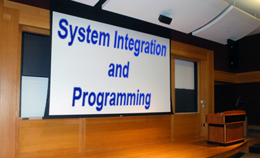 audio visual systems integration