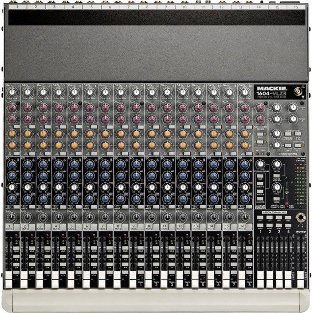 16-Input / 4-Output Mixer