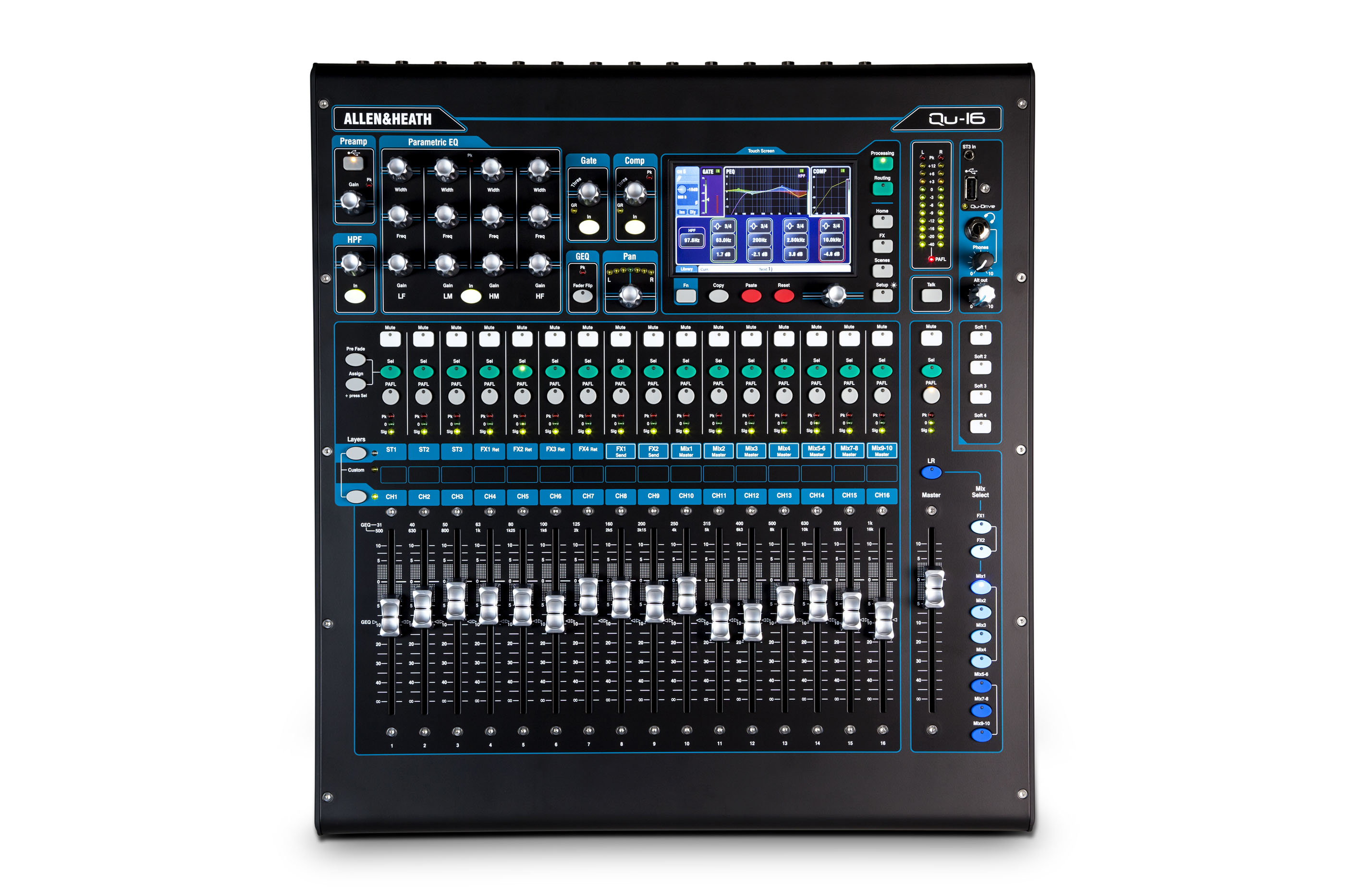 Allen & Heath QU-16 16 Channel Digital Audio Mixer