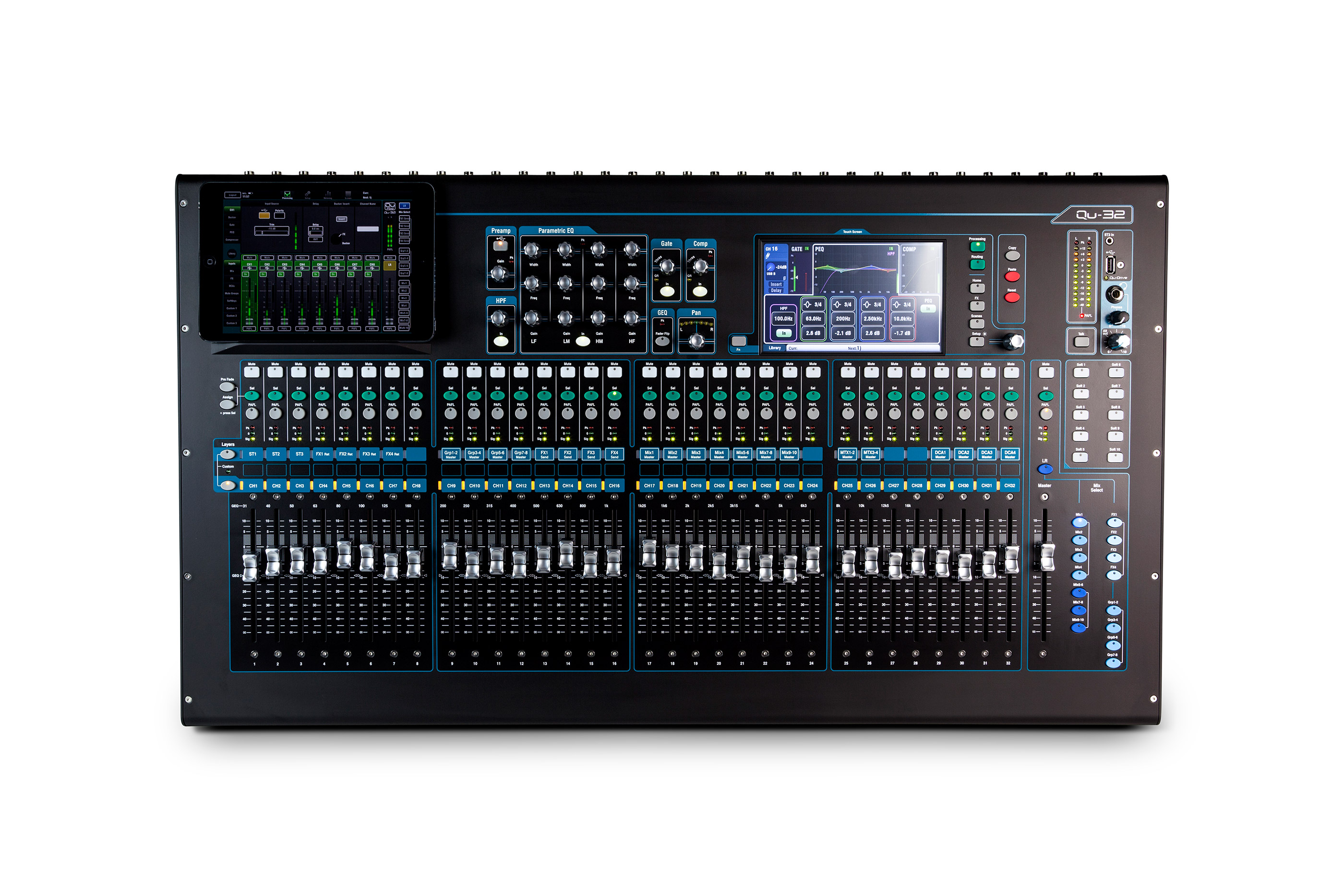 Allen & Heath QU-32 32 Channel Digital Audio Mixer