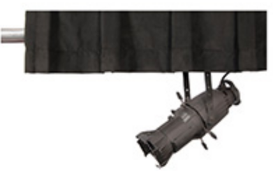 Black Encour Velour Truss Header