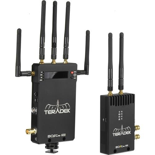 Teradek Bolt Pro 600 Wireless 3G-SDI/HDMI Video Transmitter/Receiver Set