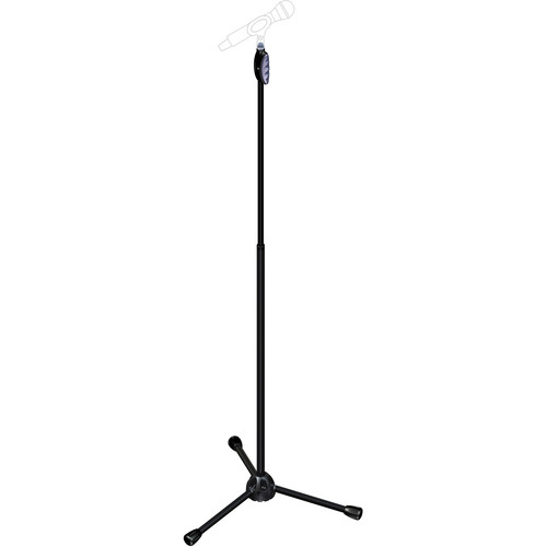 Microphone Stand with One-handed Height Adjustment