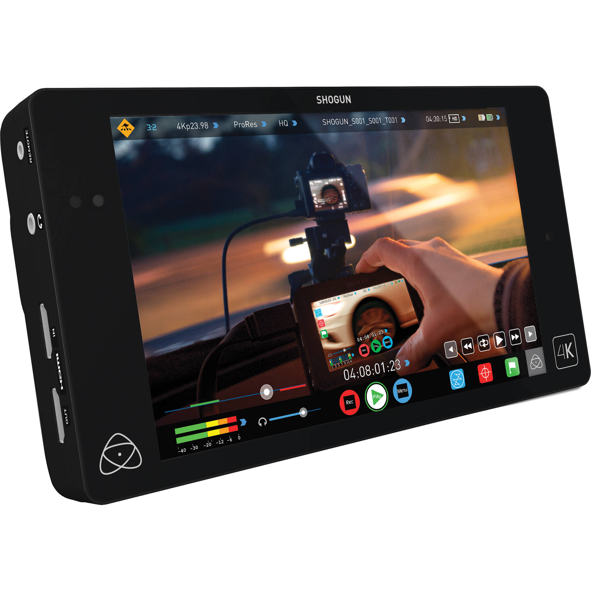 Atomos Shogun 4K HDMI/12G-SDI Recorder and 7 inch Monitor