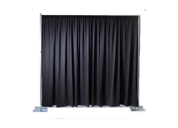 10' Wide Run-Off Drape Section (Adjustable to 12' High)