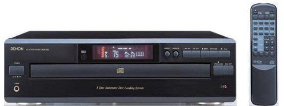5 Disc CD Player