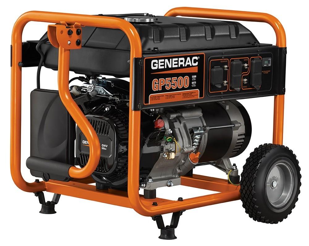 Generac GP Series 5500 Portable Generator