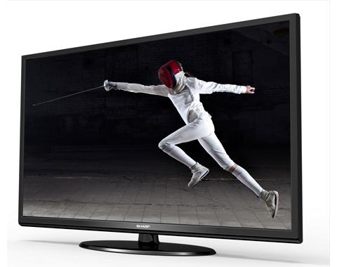 Sharp LC-60LE452U 60-inch Slim LED HD Display