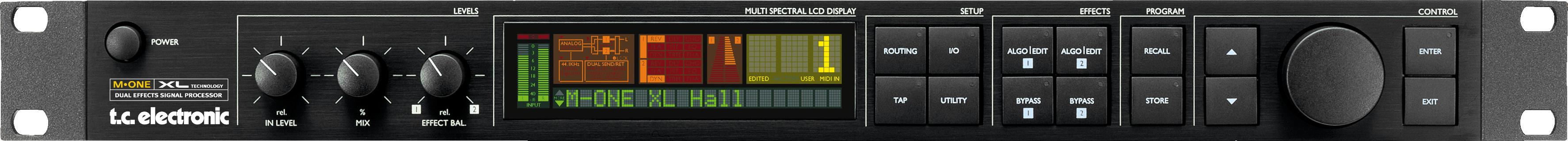tc electronics M-One XL Dual Effects Signal Processor