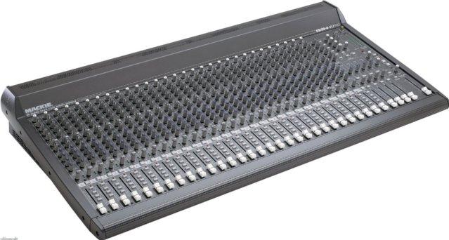 32-Input / 4-Output Mixer