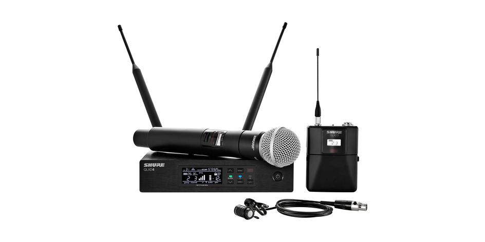 Shure QLX-D Digital Wireless Mic System