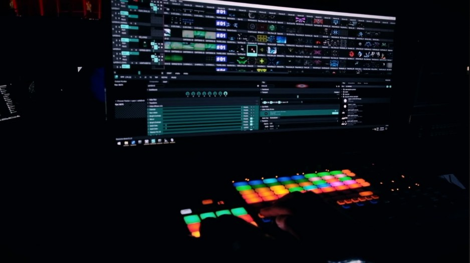 Resolume Arena 7 1080P Media Server NewTek NDI Ready