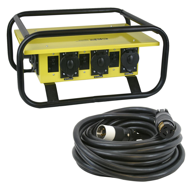 CEP 8706GU 50 Amp Spider Box PD | Power | JP Lilley AV