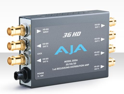 AJA 3GDA 3G HDSDI Distribution Amplifier