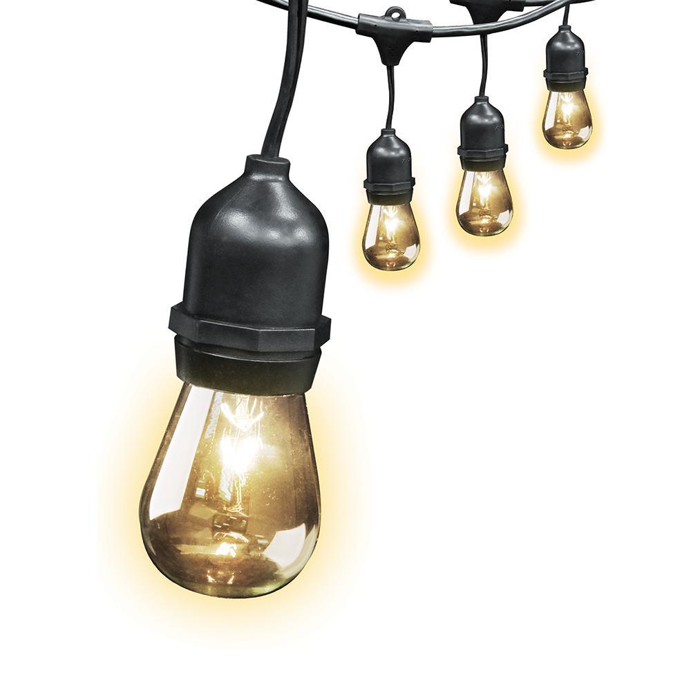 String Lights 50 Foot 24 Bulbs