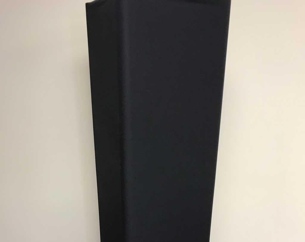 10′ Long 12″ Box Truss Cover – Hook & Loop Closure Black