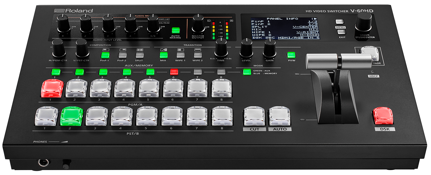 Roland V-60HD Multi-Format HD Live Event Switcher