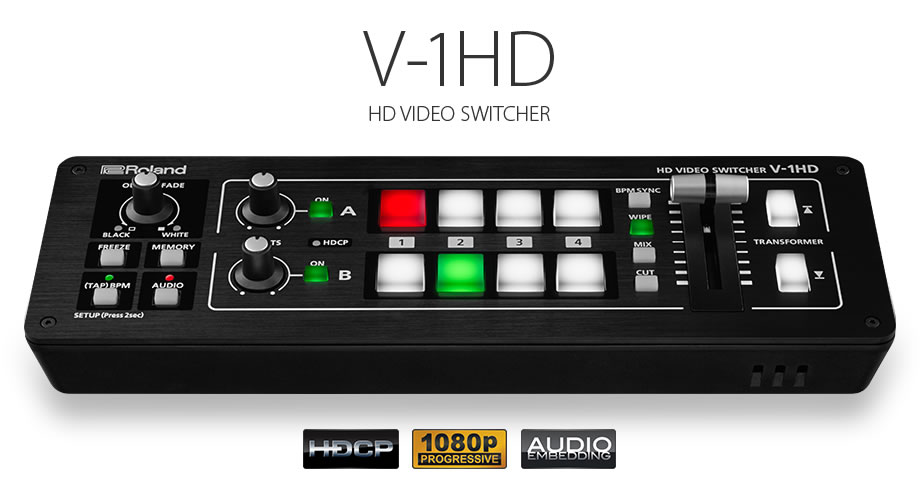Roland V-1HD Live Event Switcher